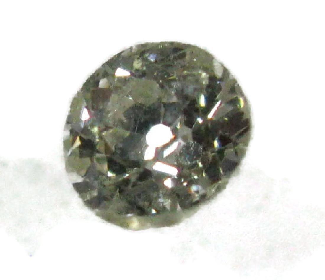 1 CARAT FACETED ROUND LOOSE DIAMOND - 6