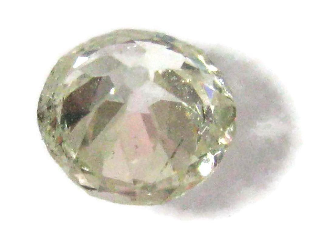 1 CARAT FACETED ROUND LOOSE DIAMOND - 7