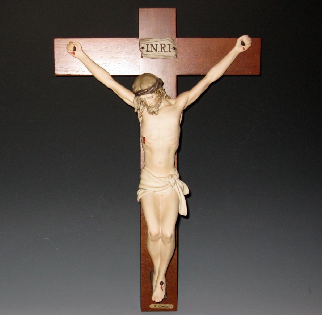 ARMANI LTD ED PORCELAIN CHRIST AT CRUCIFIXION