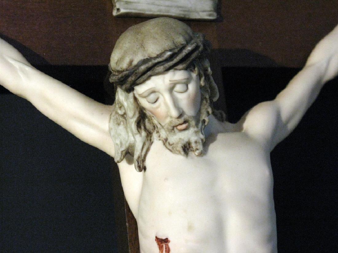 ARMANI LTD ED PORCELAIN CHRIST AT CRUCIFIXION - 2