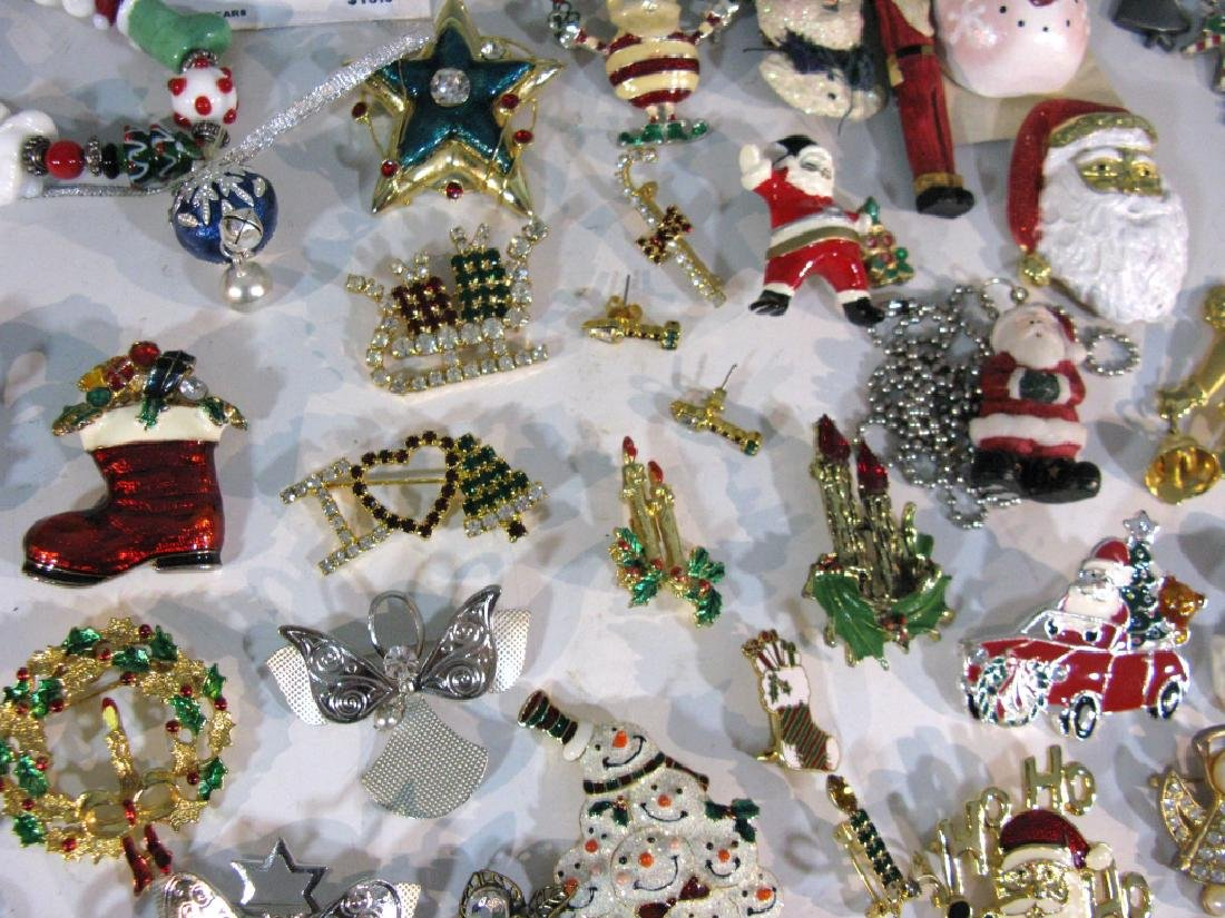 LARGE CHRISTMAS THEMED JEWELRY COLLECTION - 6