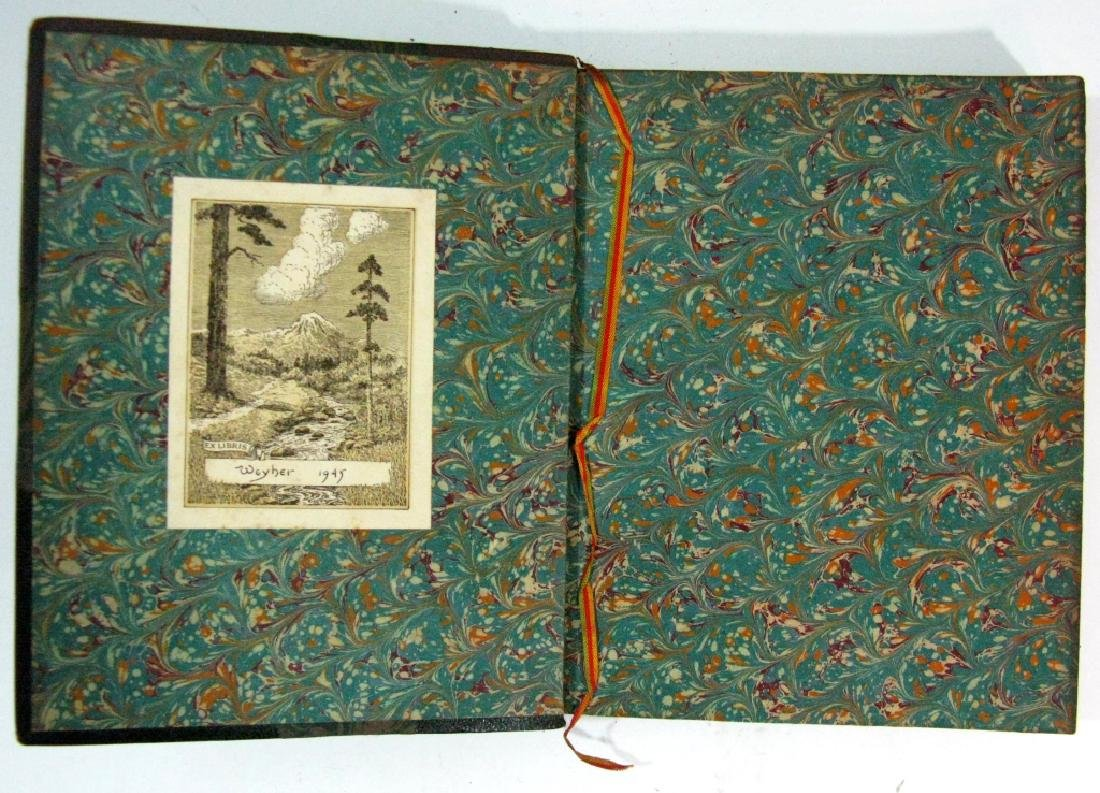 RARE BOOK P. LOTI MADAME CHRYSANTHEME WOODCUT - 4
