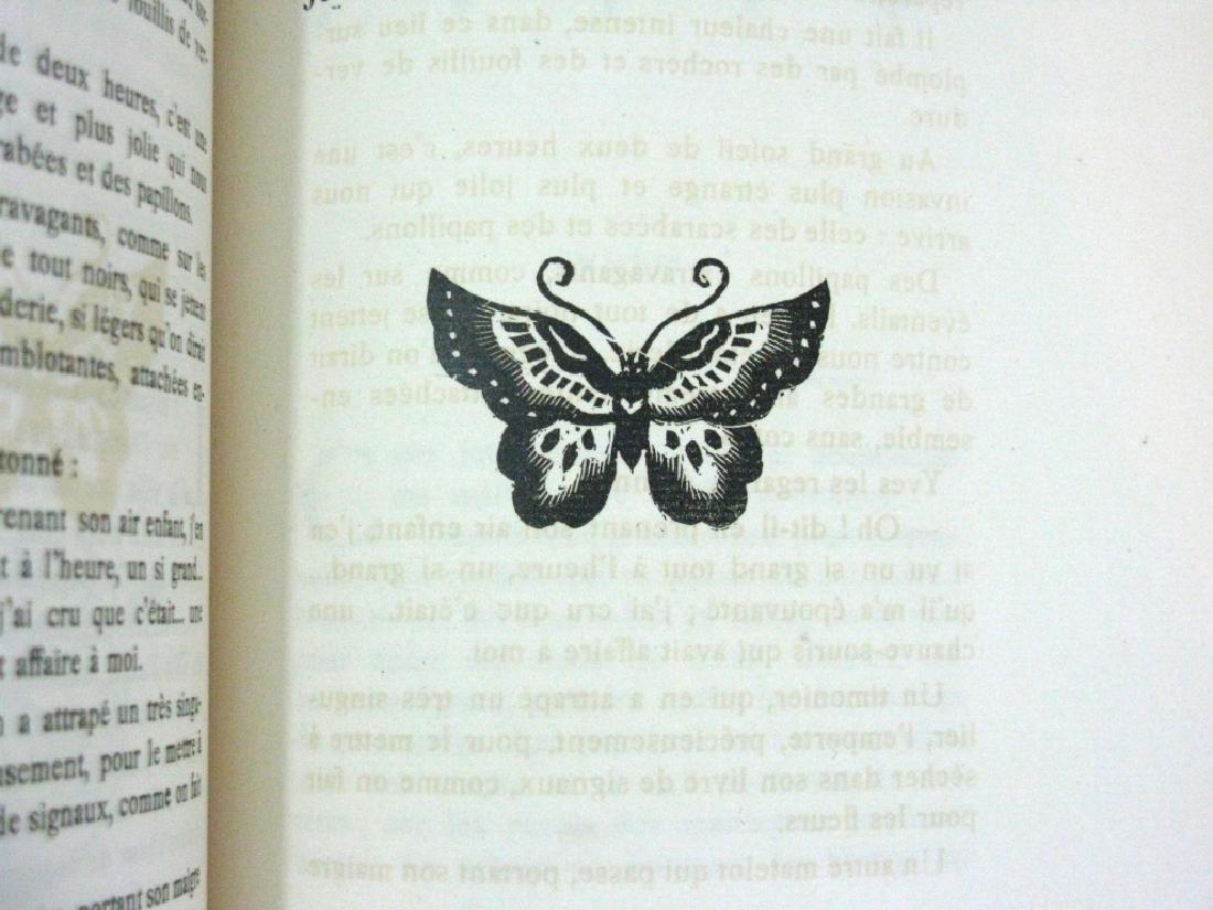 RARE BOOK P. LOTI MADAME CHRYSANTHEME WOODCUT - 6