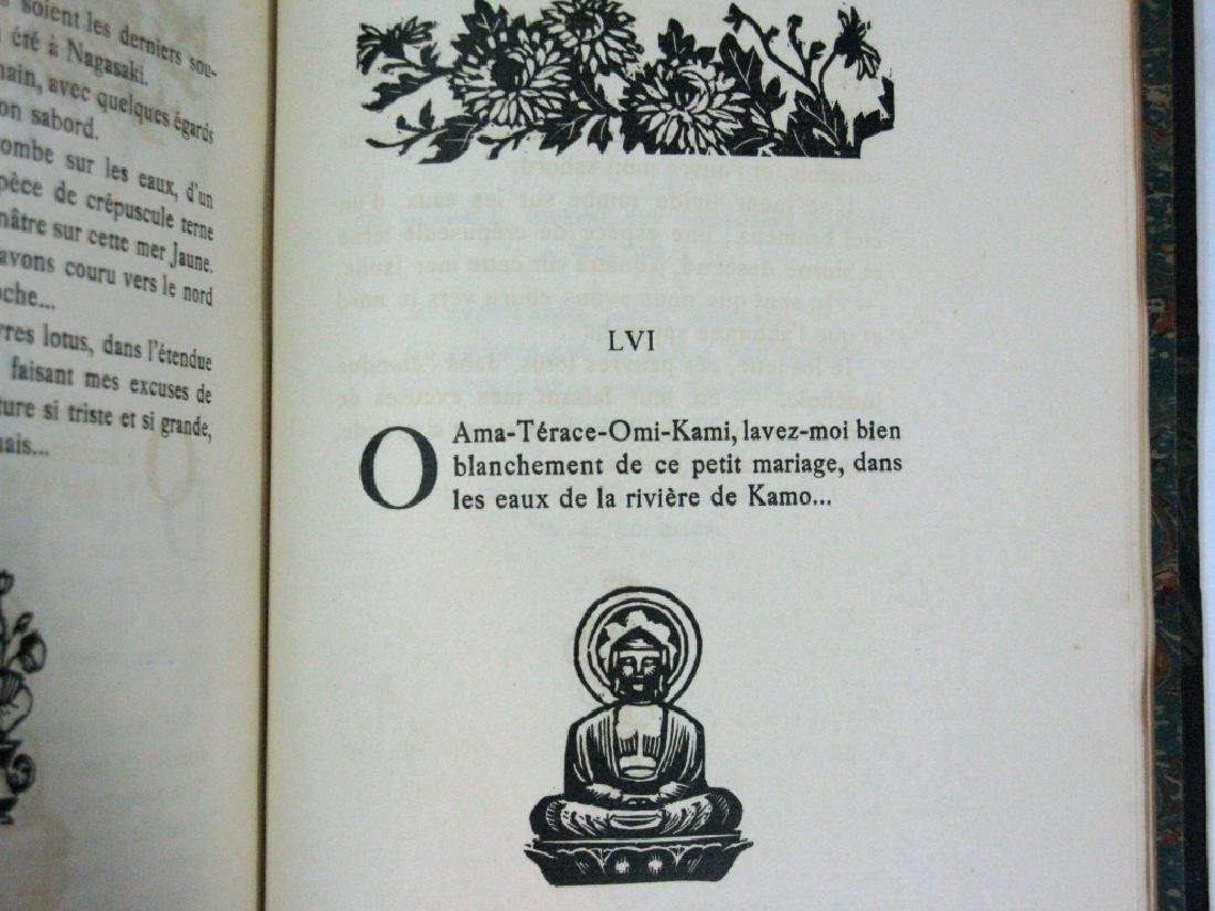 RARE BOOK P. LOTI MADAME CHRYSANTHEME WOODCUT - 7