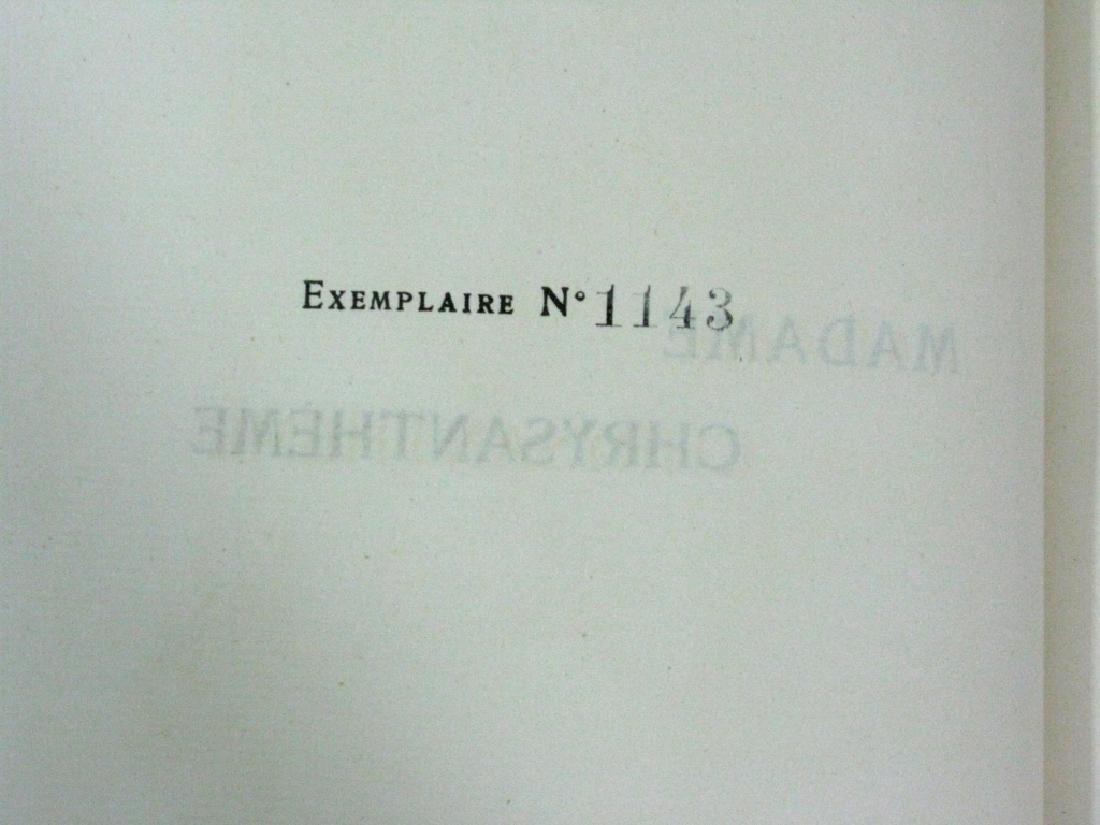 RARE BOOK P. LOTI MADAME CHRYSANTHEME WOODCUT - 9