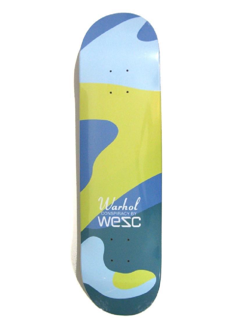 ANDY WARHOL X WESC CAMOUFLAGE SKATEBOARD DECK