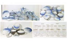 BING AND GRONDAHL PORCELAIN SEAGULL SERVICE 141 PIECES