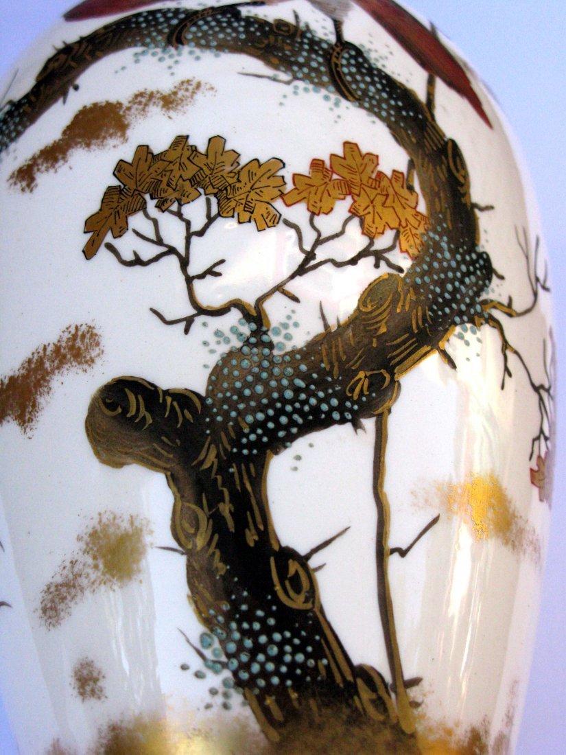 27: German, Franz Anton Mehlem Art Nouveau Ceramic Vase - 3
