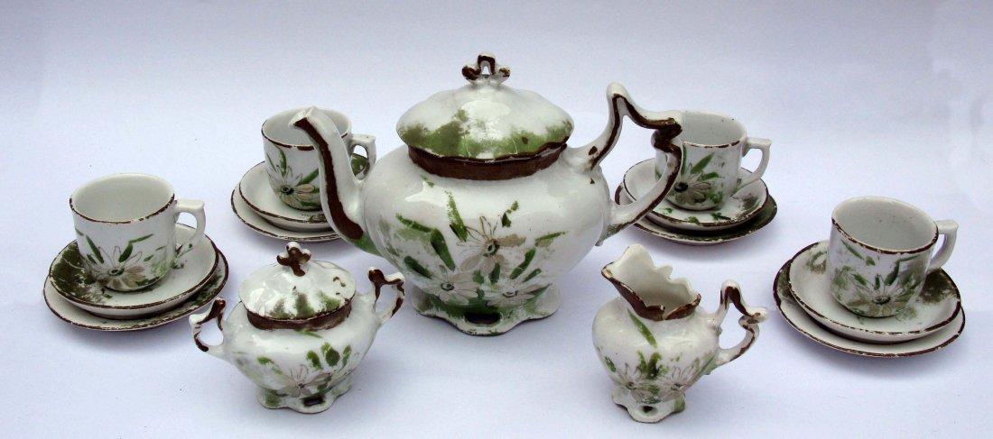 4: Victorian Child's Ceramic Tea Service