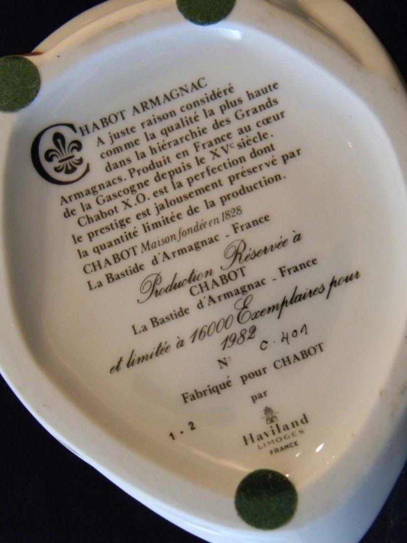 Limoges Chabot Armagnac Porcelain Duck Decanters - 2