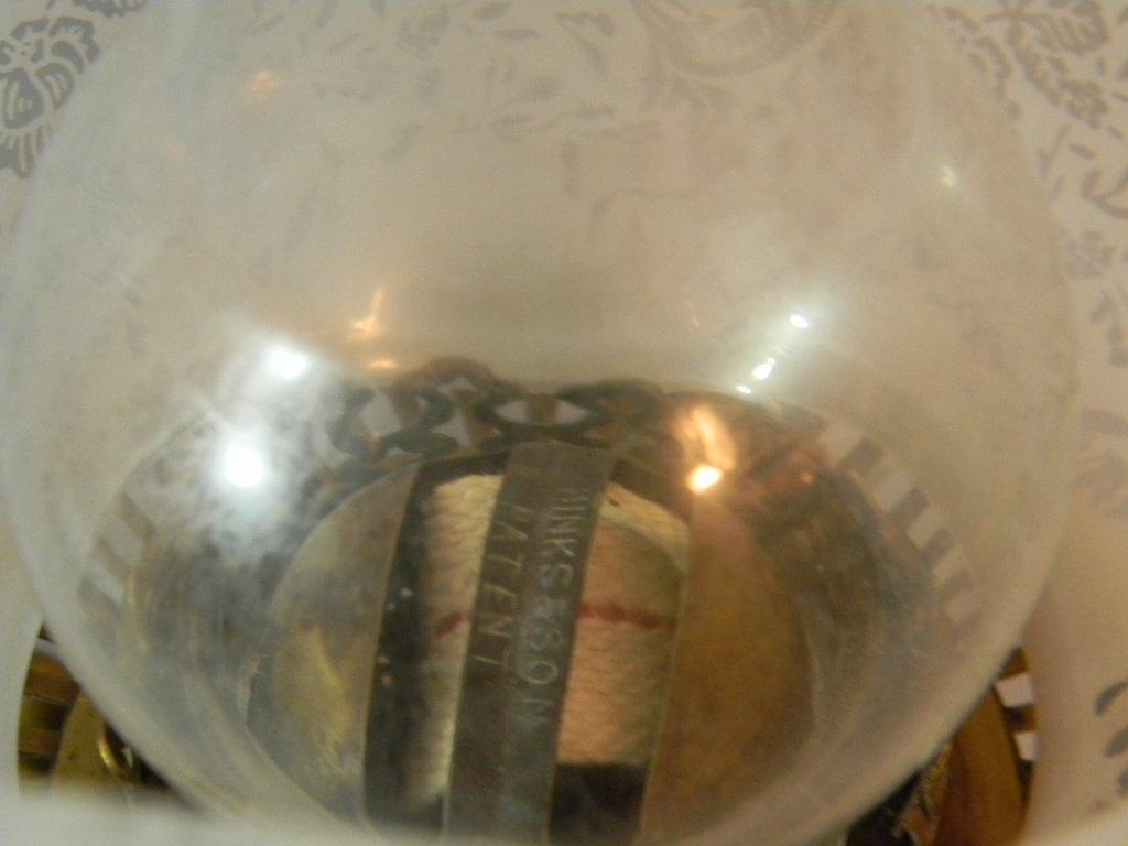 Doulton Lambeth Stoneware Oil Lamp Mark Marshall - 8