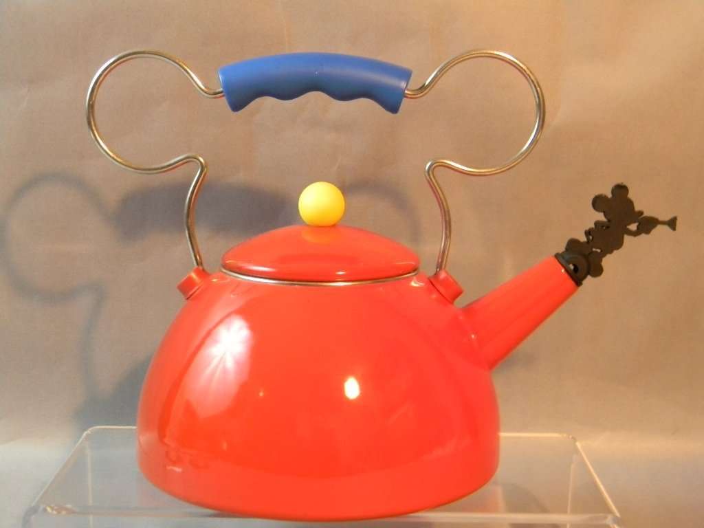 Mickey Mouse Disney Michael Graves Tea Pot & Cups - 4