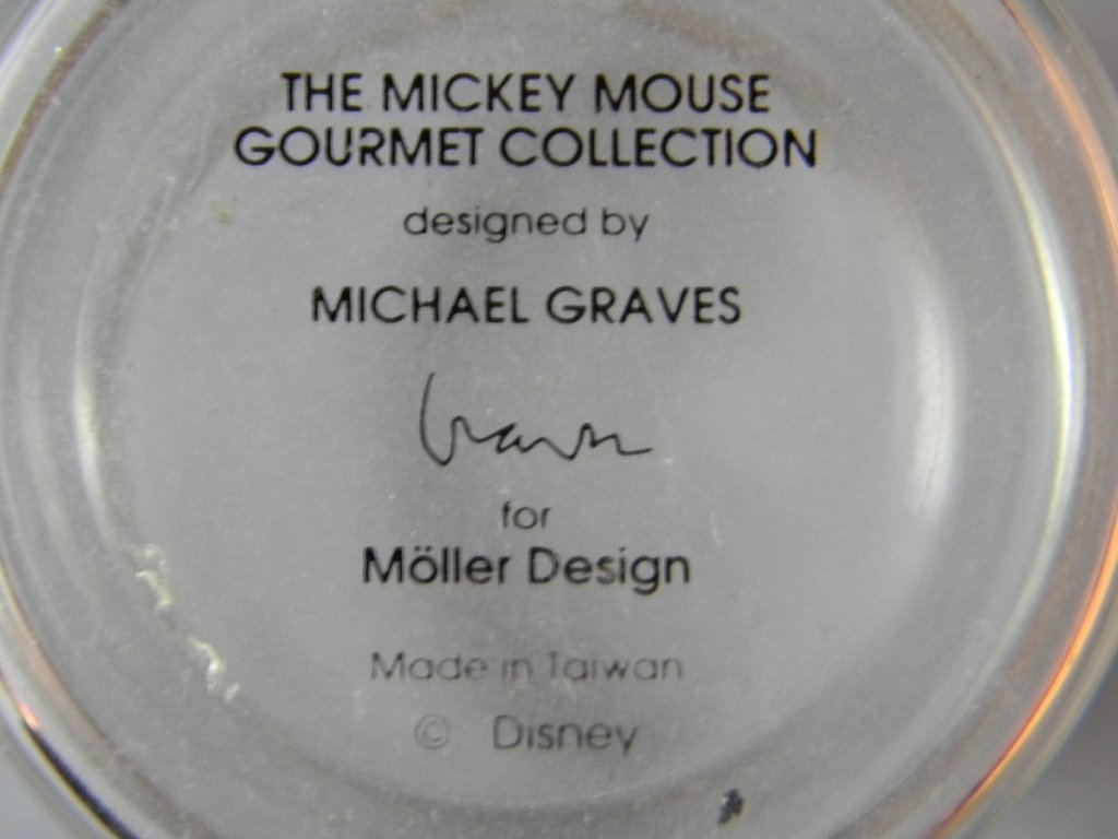 Mickey Mouse Disney Michael Graves Tea Pot & Cups - 7