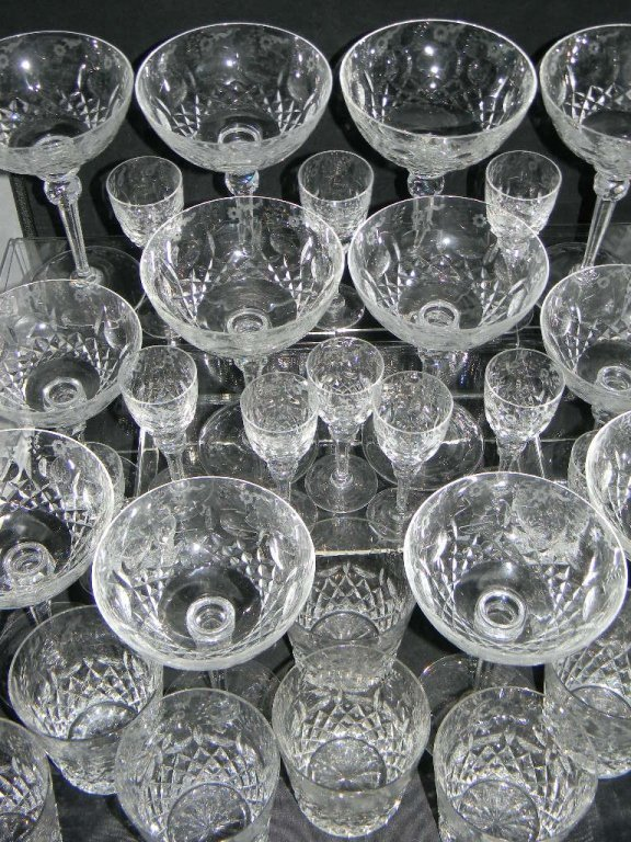 34 Rogaska Gallia Crystal Champagne, Cordial Glass