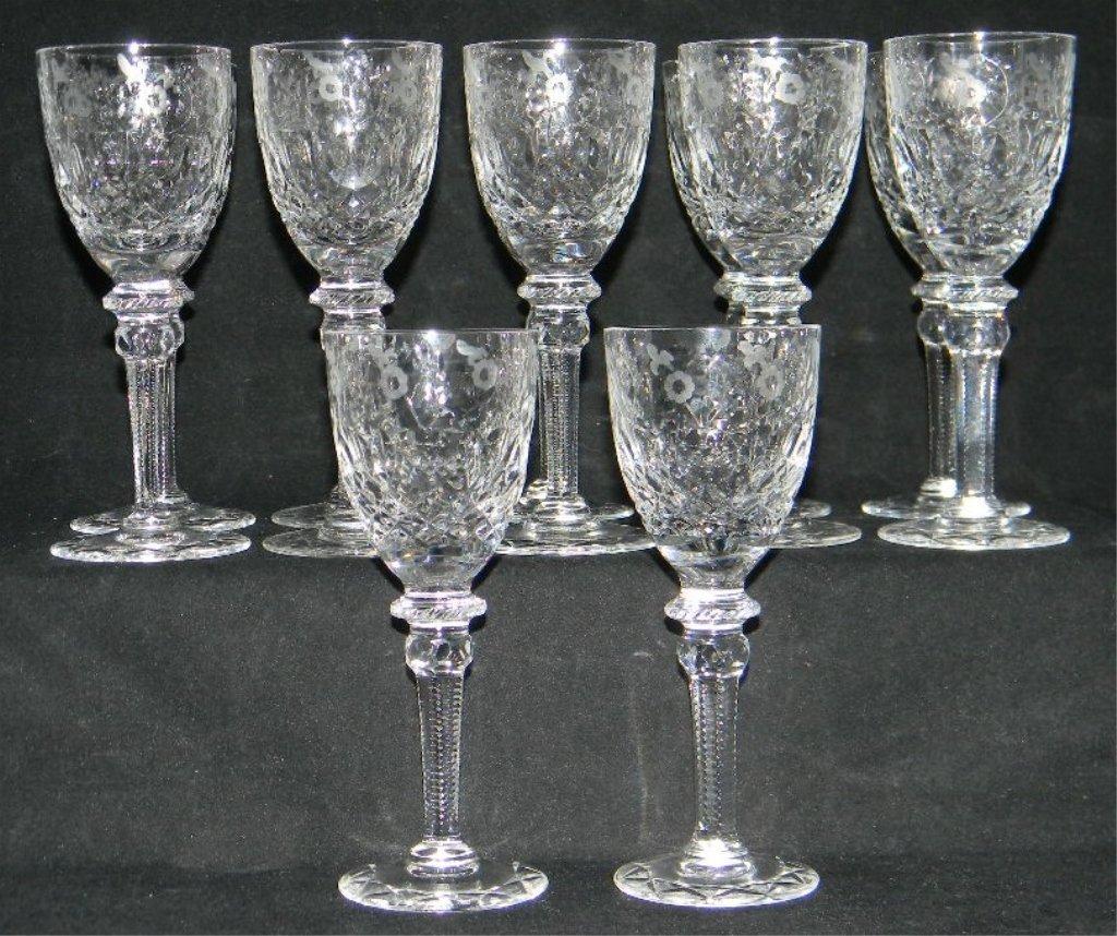 34 Rogaska Gallia Crystal Champagne, Cordial Glass - 4