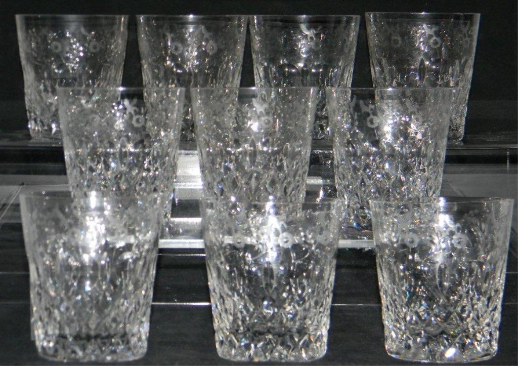 34 Rogaska Gallia Crystal Champagne, Cordial Glass - 5