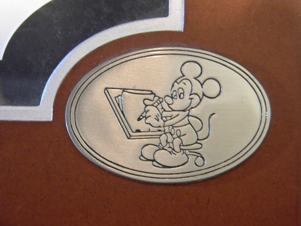 Mickey Mouse Cast Member Epcot Drawing by Gene Gonda - 5