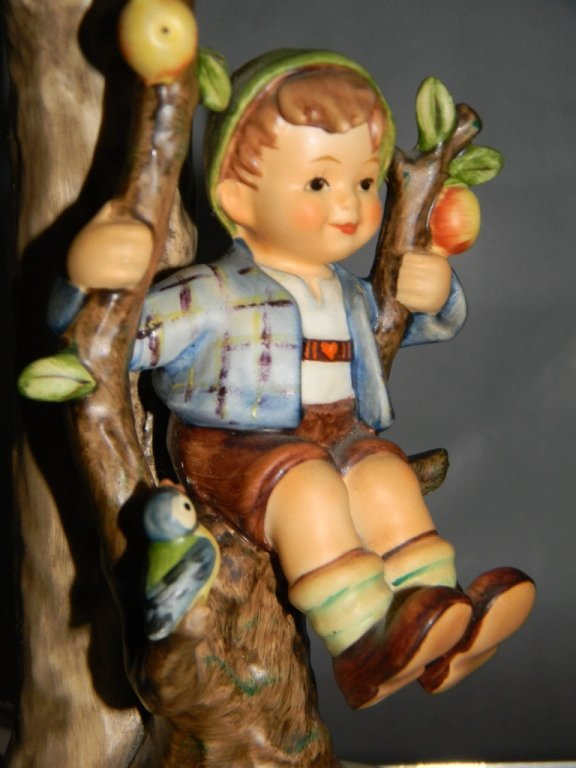 GOEBEL HUMMEL CERAMIC LAMP #230 APPLE TREE BOY - 3