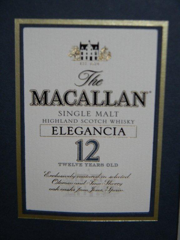 MACALLAN ELEGANCIA 12 YEAR SCOTCH WHISKEY - 2