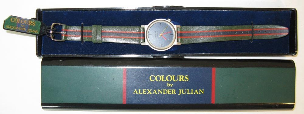 COLOURS ALEXANDER JULIAN WATCH c. 1985