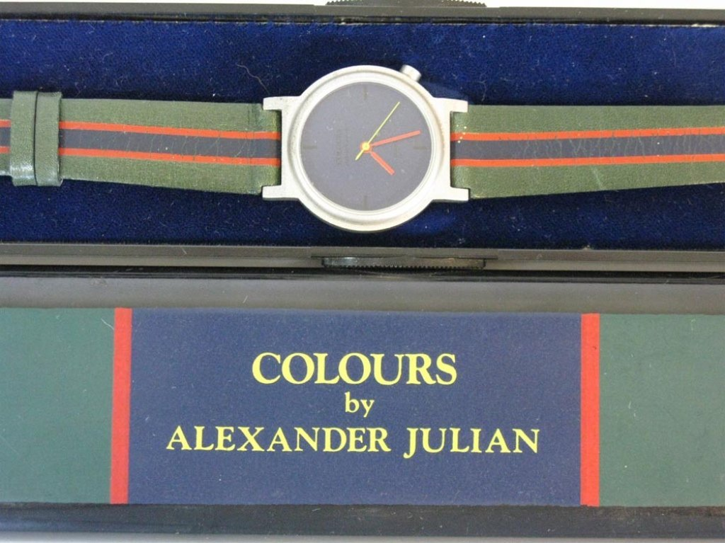 COLOURS ALEXANDER JULIAN WATCH c. 1985 - 2
