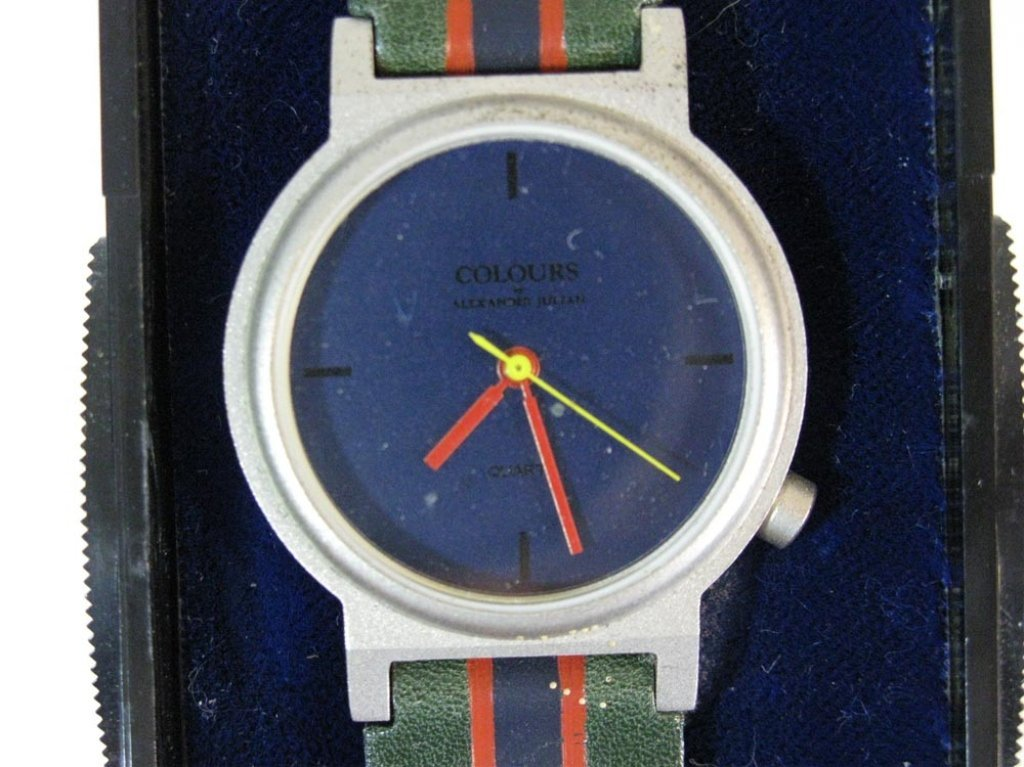 COLOURS ALEXANDER JULIAN WATCH c. 1985 - 3