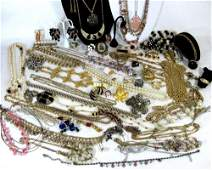 COSTUME JEWELRY Necklaces Earrings Bracelets  Watch