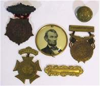 MEDALS: G.A.R ENCAMPMENT & LADIES OF THE GRAND ARMY