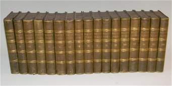 BYRONS WORKS 1833 17 VOLUME BOOK SET