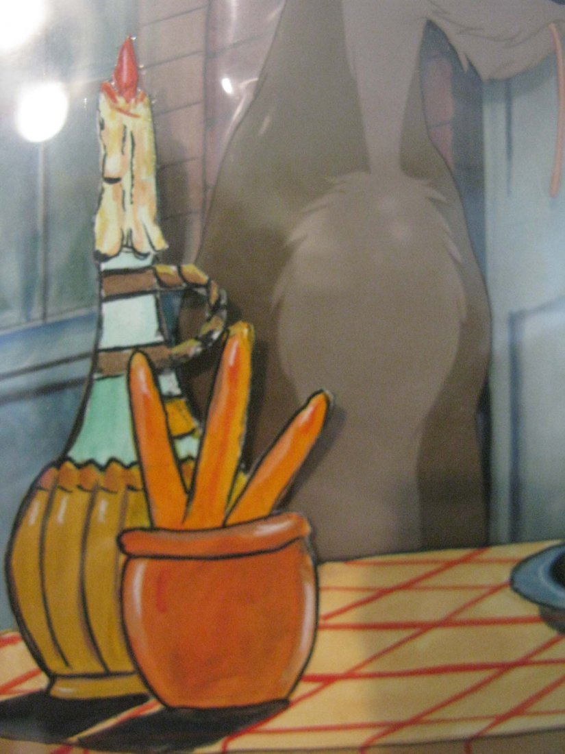 1955 LADY AND THE TRAMP PRODUCTION CEL BELLA NOTTE - 6