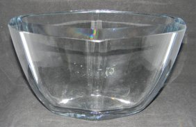 Vintage Swedish Stromberg Art Glass Vase