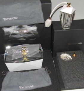 Waterford Crystal Glacia Jewelry Box & Perfume