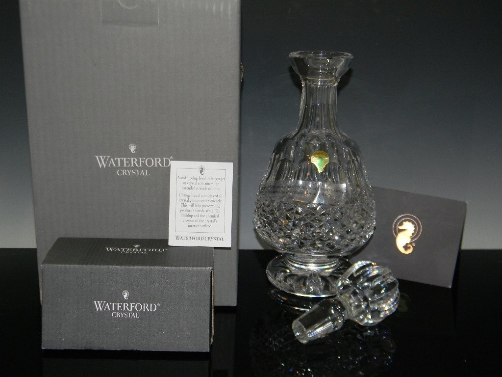 WATERFORD CRYSTAL COLLEEN BRANDY DECANTER