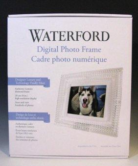 Waterford Crystal Lismore Digital Photo Frame