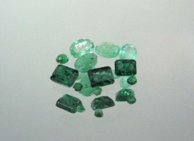 Faceted Emerald Parcel 4ct.