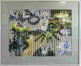 GORDON ONSLOW-FORD ORIGINAL WORK ON PAPER