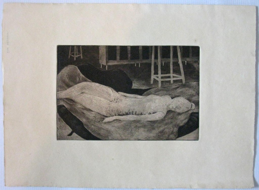 12 @ JAMES T FERREL NEUMASTIC ARTIST ETCHINGS - 4