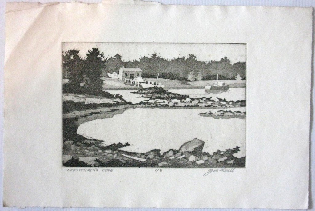 12 @ JAMES T FERREL NEUMASTIC ARTIST ETCHINGS - 6