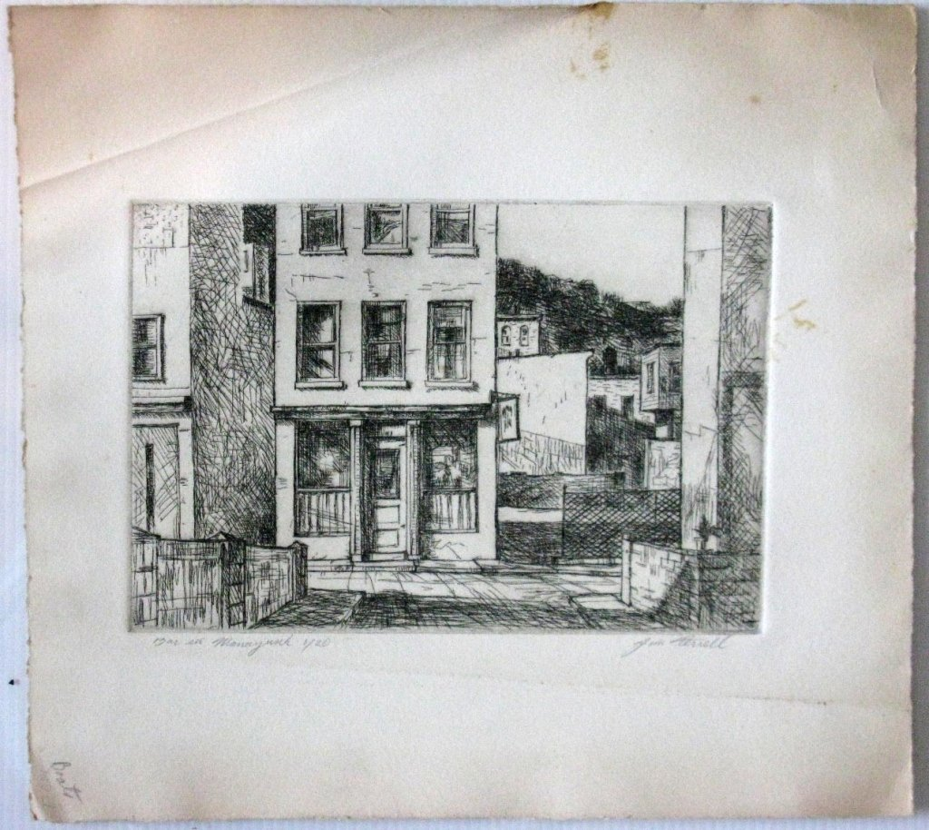 12 @ JAMES T FERREL NEUMASTIC ARTIST ETCHINGS - 7