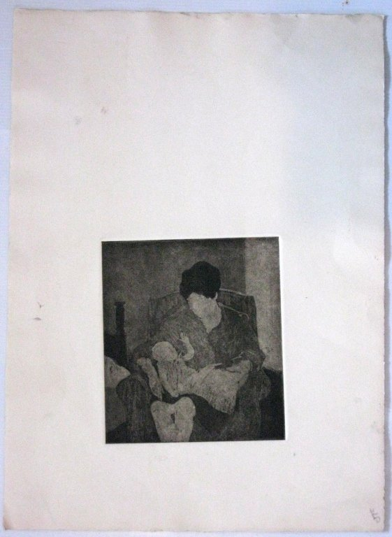 12 @ JAMES T FERREL NEUMASTIC ARTIST ETCHINGS - 8