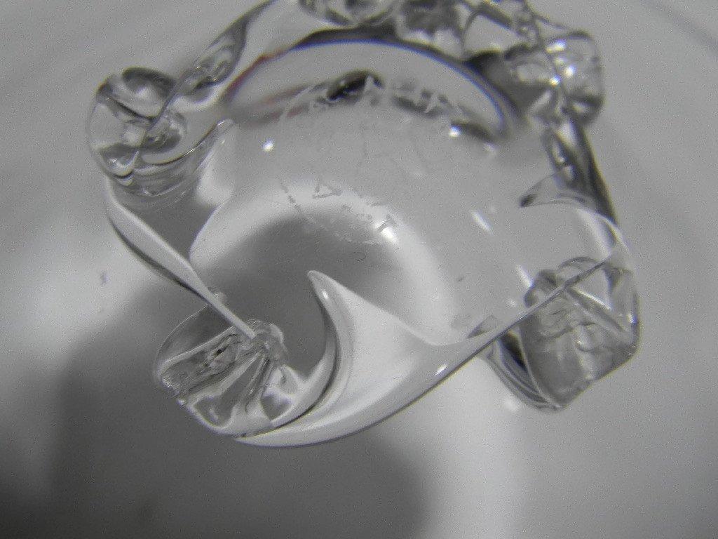BACCARAT CRYSTAL ASH BOWLS & CIGARETTE CUPS - 7