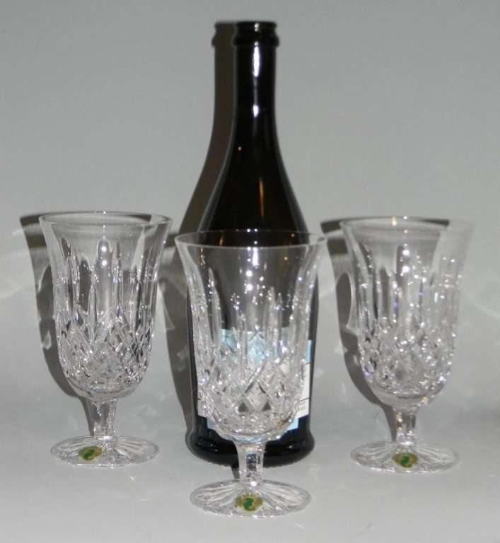 WATERFORD CRYSTAL LISMORE STEMWARE - 8