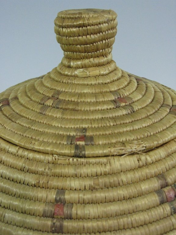 COLLECTION OF INUIT & MAKAH PEOPLES WOVEN BASKETS - 3