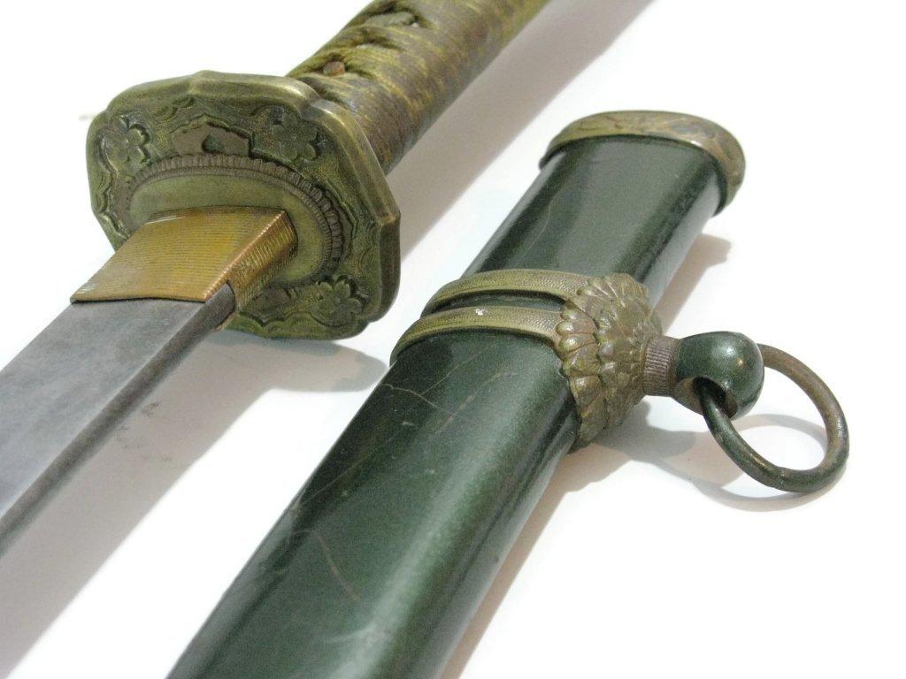 WWII ERA HAND-MADE JAPANESE KATANA SWORD - 4