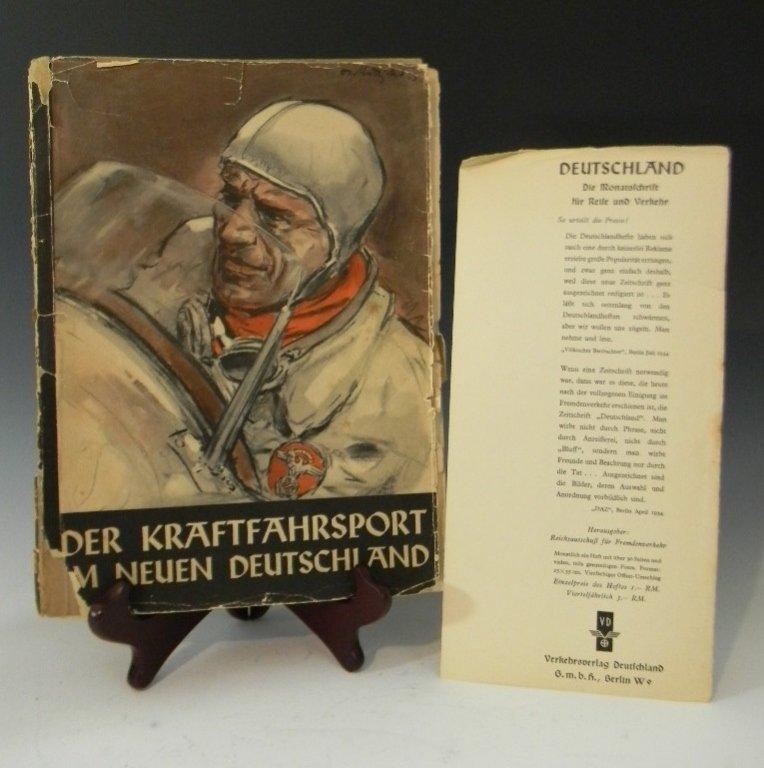 BOOK DER KRAFTFAHRSPORT IM NEUEN DEUTSCHLAND