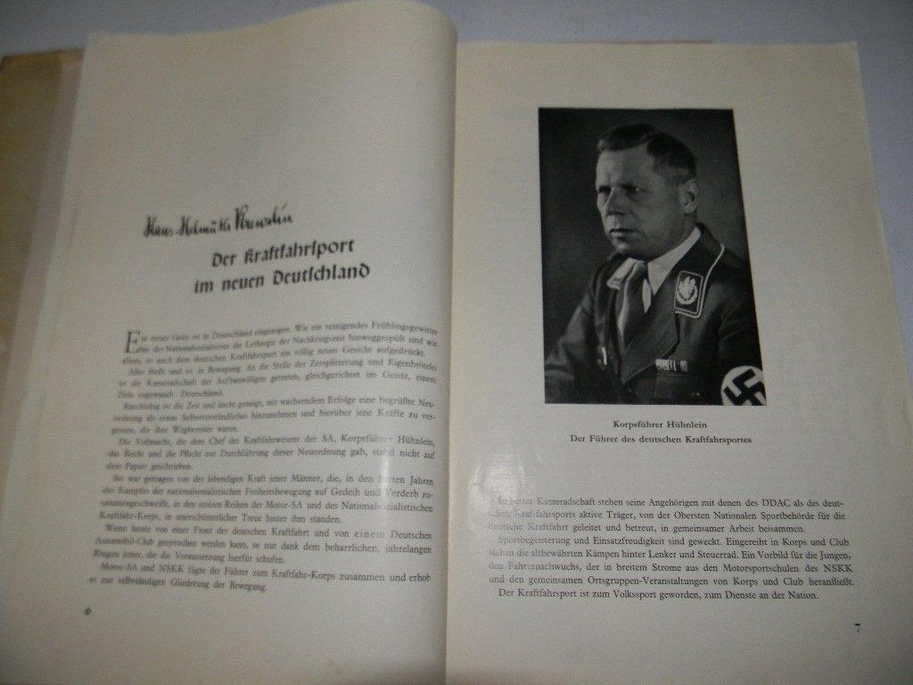 BOOK DER KRAFTFAHRSPORT IM NEUEN DEUTSCHLAND - 5