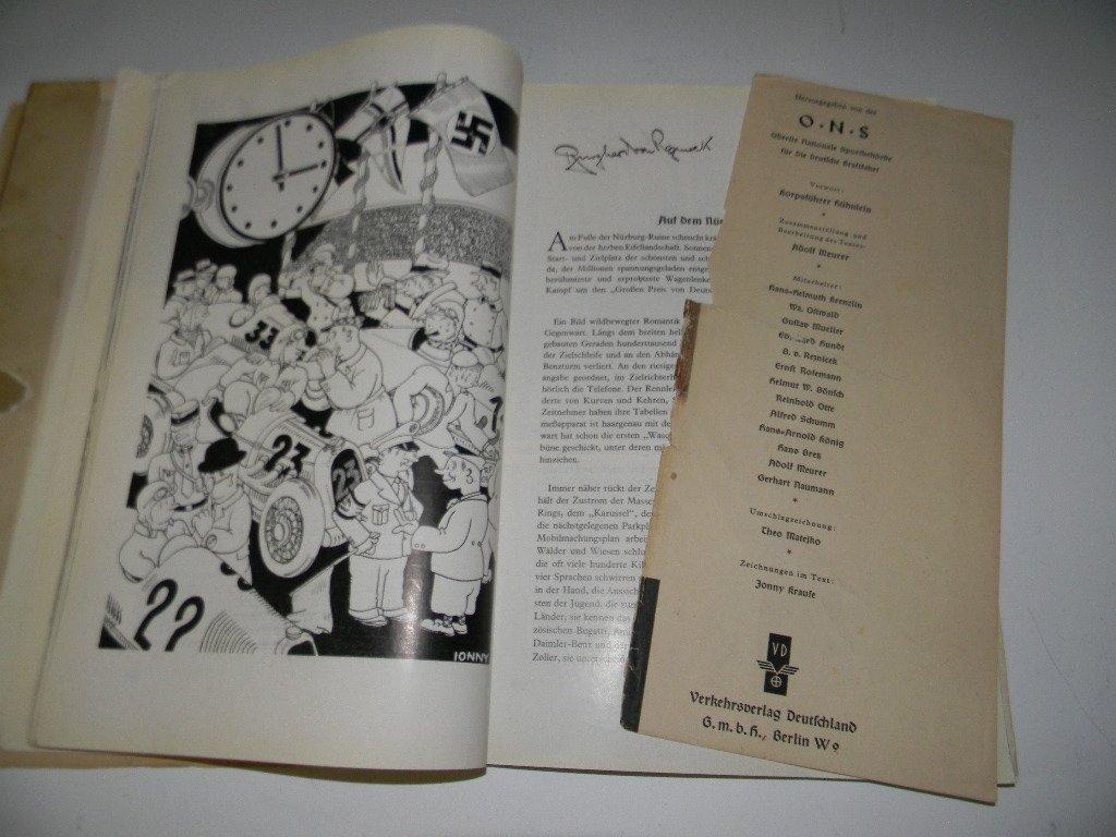 BOOK DER KRAFTFAHRSPORT IM NEUEN DEUTSCHLAND - 6