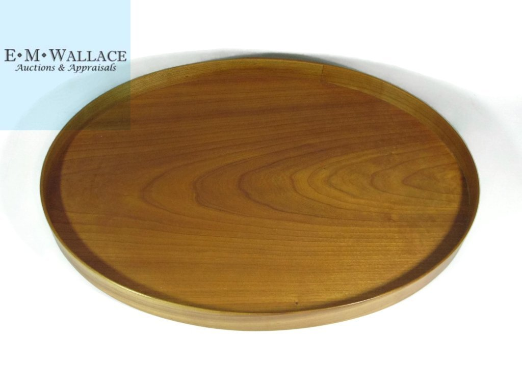 SHAKER WOOD SERVING TRAY BY ALLEN ANDROKITES