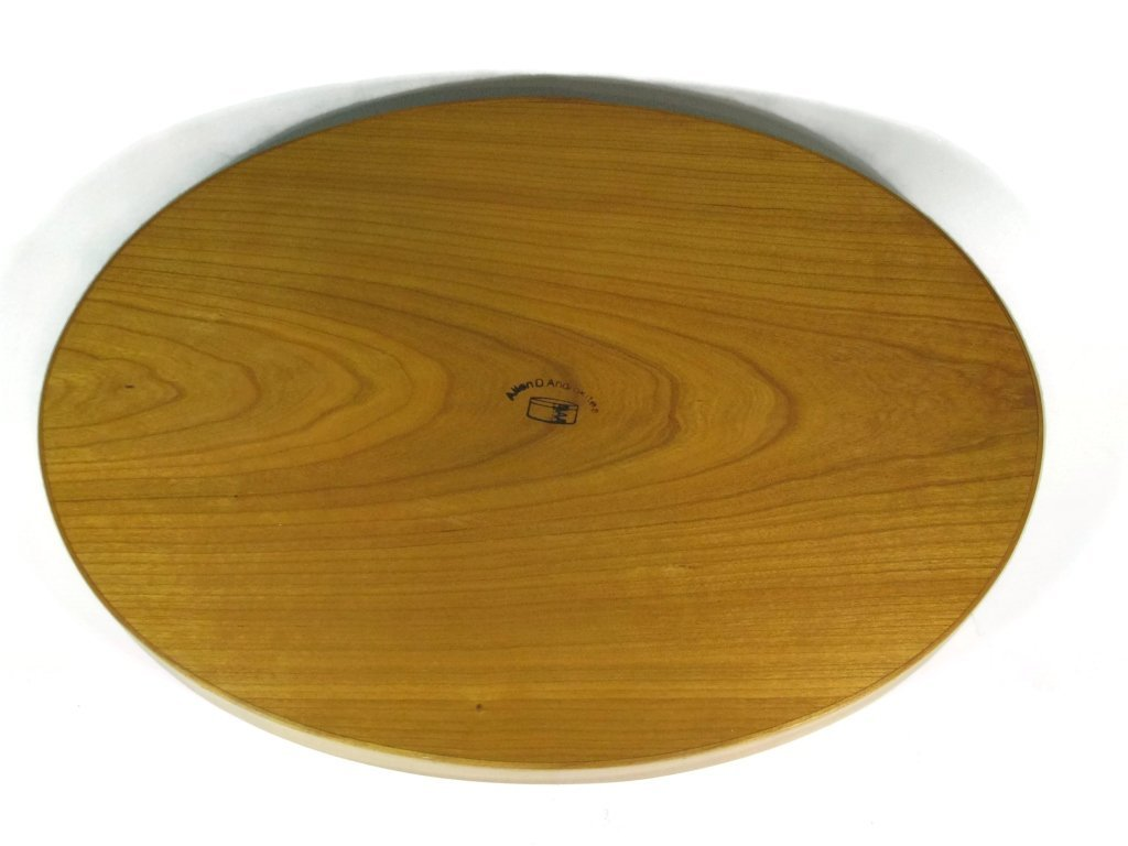 SHAKER WOOD SERVING TRAY BY ALLEN ANDROKITES - 4