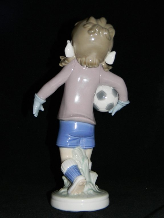 LLADRO BALLET FIRST STEP 5094 LILLY FOOTBALL 5134 - 5